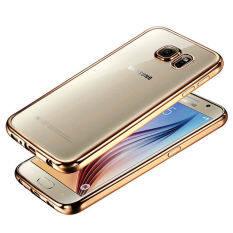 ราคา Tpu Ultrathin Plating Crystal Soft Case For Samsung Galaxy Note 5 N9200 Gold ใหม่ล่าสุด