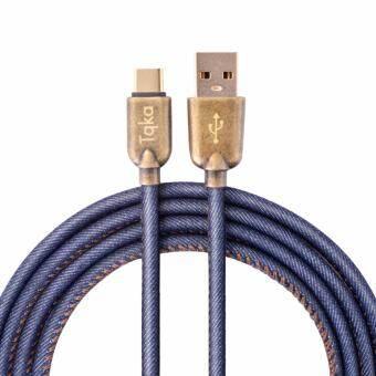 สายเคเบิ้ล Denq Tqka USB Type C พร้อมขั้วต่ออลูมิเนียมสำหรับอุปกรณ์อัจฉริยะ (3.28 ฟุต)-