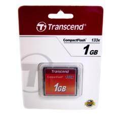 Transcend Compactflash 1Gb 133X ราคาถูก รับประกันตลอดอายุการใช้งาน Transcend ถูก ใน กรุงเทพมหานคร