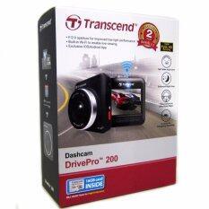 โปรโมชั่น Transcend Dp200 Drivepro 200 Dashcam Car Recorder Free Transcend Microsd 16Gb Class 10 กรุงเทพมหานคร