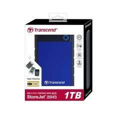 ขาย Transcend External Hard Drives Storejet 25H3 Usb 3 1Tb Blue Ts1Tsj25H3B ไทย ถูก