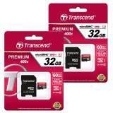 ราคา Transcend Micro Sdhc Uhs I U1 Speed Class 10 60Mb S 32Gb 400X พรีเมี่ยม แพ็คคู่ 2ชิ้น Transcend กรุงเทพมหานคร