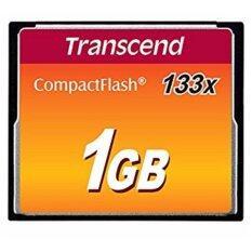 Transcend Ts1gcf133 1gb 133x Compact Flash Card.