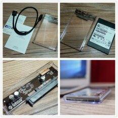 ราคา Transparent 2 5 Inch Hard Drive Box Sata Hdd Enclosure 2Tb Super Speed Usb 3 External Hd 2139U3 Computers Laptops Storage Intl Unbranded Generic เป็นต้นฉบับ