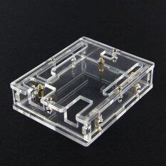 ซื้อ Transparent Acrylic Case Shell For Arduino Uno R3 X