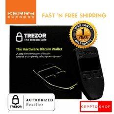 TREZOR (Black) - Thailand Authorized Reseller - Bitcoin/Cryptocurrency Hardware Wallet ราคาพิเศษ