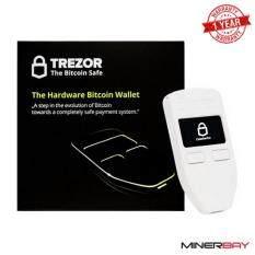 ขาย Trezor Hardware Bitcoin Cryptocurrency Wallet เครื่องสำรองข้อมูลเงินดิจิตอล สีขาว White Thailand
