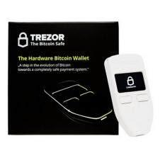 ขาย Trezor Hardware Wallet เครื่องสำรองข้อมูลเงินดิจิตอล สีขาว Trezor เป็นต้นฉบับ