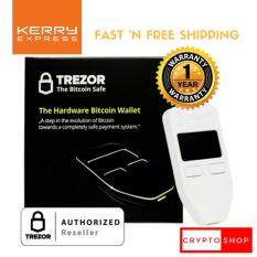 ขาย Trezor White Thailand Authorized Reseller Bitcoin Cryptocurrency Hardware Wallet ราคาพิเศษ