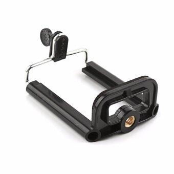 แท่นวางโทรศัพท์ ต่อกับขาตั่งกล้อง Tripod Selfie Stick Phone Clip Accessories