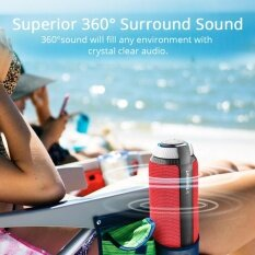 ซื้อ Tronsmart Element T6 25W Portable Bluetooth Speaker With 360° Stereo Sound And Built In Microphone Red Intl ออนไลน์ ถูก