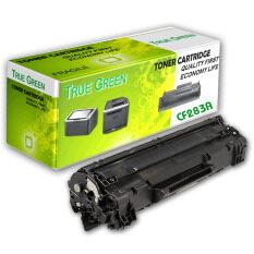 TRUE GREEN   ตลับหมึกพิมพ์เลเซอร์ CF283A - Black