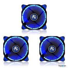 Tsunami Air Series AL-120 LED Halo Light Edition Fan BlueX3