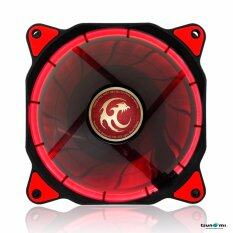 Tsunami Air Series AL-120 LED Halo Light Edition Fan REDX1