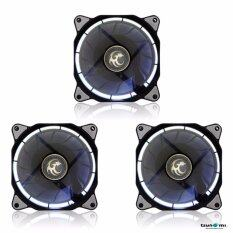ราคา Tsunami Air Series Al 120 Led Halo Light Edition Fan Whitex3 Tsunami เป็นต้นฉบับ