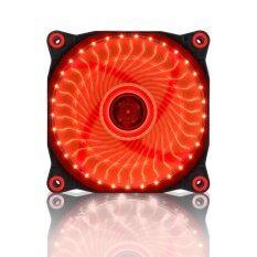 Tsunami Air Series AL-120 LED Lights Silent Edition (33 PCS LED) RED