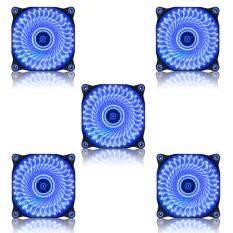 ราคา Tsunami Air Series Al 120 Led Lights Silent Edition 33X5 Blue ถูก