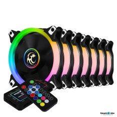 ซื้อ Tsunami Circle Series Mono Ring Rgb 120 Rgb Fan Remote Control X 7 ใหม่ล่าสุด