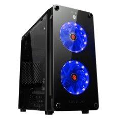 ซื้อ Tsunami Coolman Crystal Micro Atx Gaming Case Double Ring Led Fan Kb ออนไลน์ กรุงเทพมหานคร