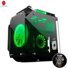 ขาย Tsunami Gaming King Gorilla Combo Coolman Gorilla Kgn 1St Player Black Widow 700W 80Plus Bronze Full Modular Power Supply ถูก
