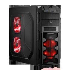 ขาย Tsunami Megatron X2 Series Usb 3 Gaming Case With 3 X Led Fan Blace Red Tsunami เป็นต้นฉบับ
