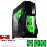 ราคา Tsunami Pro Hero K1 Series Usb 3 Gaming Case Kgn Air Series 15 Led Gn X 3 เป็นต้นฉบับ Tsunami
