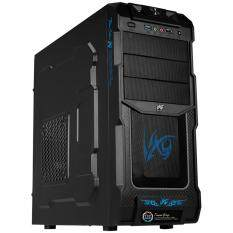 ราคา Tsunami Tattoo Colour X9 Usb 3 Gaming Case Black Blue ใหม่ ถูก