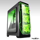 ซื้อ Tsunami X Storm Usb 3 Gaming Case With Led 12 Cm Fan X 3 Kgn ถูก
