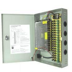 ตู้จ่ายไฟ DC12V 20A Switching Power Supply สำหรับกล้องวงจรปิด 10-18 ตัว