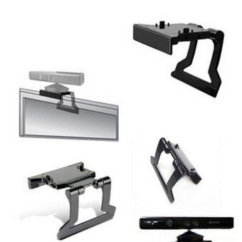 TV Clip Mount Mounting Stand Holder for Microsoft Xbox 360 Kinect Sensor Black - intl