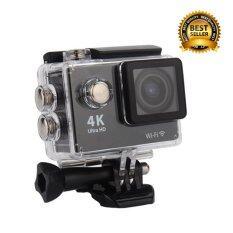 twilight กล้องติดจักรยาน กันน้ำ 4K WiFi Action Camera 4K