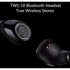 โปรโมชั่น หูฟังบลูทูธ Tws 10 Twins Wireless Bluetooth 4 2 Stereo Headset In Ear Earphones Earbuds Pods หูฟังไร้สาย Dds กรุงเทพมหานคร