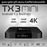 ราคา Tx3 Mini Android 7 1 Ram 2 Gb Rom 16 Gb Amlogic S905W Wifi 2 4 รองรับ 4K