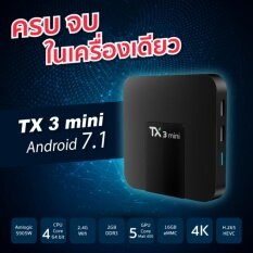 ซื้อ Tx3 Mini Android 7 1 Ram 2 Gb Rom 16 Gb Amlogic S905W Wifi 2 4 รองรับ 4K Android Box Plus