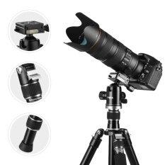 Tycka Professional 1670mm ขาตั้งกล้องแบบ 3 ขา พร้อม 36mm 360 หัวบอลพาโนรามา สำหรับ DSLR Cameras