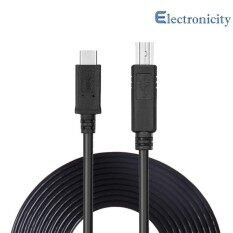 Type C Usb3 1 To Usb Type B 2 Cable Type C Printer Wire Cord For Macbook Laptop Printer Black 2M Intl ใหม่ล่าสุด