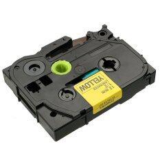 ซื้อ Tze631 Laminated Label Tape Compatible For Brother P Touch Pt1005 Tz Tze 12Mm X 8M Unbranded Generic ถูก