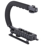 ความคิดเห็น U C Shaped Flash Bracket Holder Handle Handheld Action Stabilizer Grip For Canon Nikon Sony Gopro Sjcam Xiaomi Yi Camera Camcorder Intl
