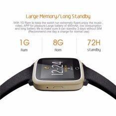 ซื้อ U11S Heart Rate Touch Screen Smart Watch 5 1 Android Phone Mtk6580 Quad Core 1 3 Ghz Wifi Gps Bluetooth Smart Bracelet Intl ใหม่
