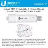 Ubiquiti Bullet 2Ghz High Power 802 11N Outdoor Radio System White กรุงเทพมหานคร