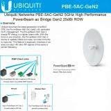 ส่วนลด Ubiquiti Pbe 5Ac Gen2 Airmax Powerbeam 5Ac 2 4 5Ghz White Ubiquiti กรุงเทพมหานคร