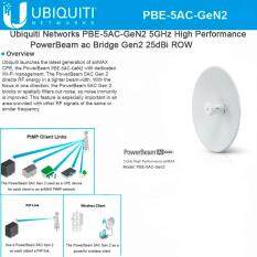Ubiquiti Pbe 5Ac Gen2 Airmax Powerbeam 5Ac 2 4 5Ghz White ใน กรุงเทพมหานคร