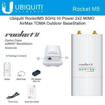 โปรโมชั่น Ubiquiti AirGrid M5-HP 23dBi Grid 5GHz CPE 24vdc