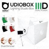 ราคา Udiobox Iiid Dual Power ปรับแสงได้หน้าและหลัง สตูดิโอพับถ่ายภาพสินค้า ขนาด 30X30X30 ซม พร้อมหลอดไฟ Led 2 แถวในตัว 2 ชุดหน้าหลัง ฉากหลังให้ 5 สี ขาว ดำ เทา เขียว แดง Udiobox ใหม่