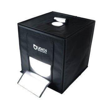 UDIOBOX UDIO BIZ 60x60x60 ซม. สตูดิโอพกพาแบบกระเป๋า พร้อมไฟ LED 4 แถวในตัว ไม่ต้องติดตั้ง ใช้งานได้ภายใน 10 วินาที