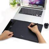 ราคา Ugee 10 X 6 กราฟฟิกบอร์ดแท็บเล็ต Cordless Digital Stylus 5080Lpi ความละเอียด 230Rps ใหม่ ถูก