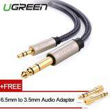 ซื้อ Ugreen 3 5Mm To 6 5Mm Audio Cable Nylon Braided With Audio Adapter 1M Ugreen ออนไลน์