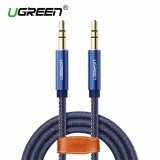 ราคา Ugreen 3 5Mm To 3 5 Mm Jack Denim Audio Cable Stereo Aux Cord For Headphones Cars Phones 1M Intl Ugreen เป็นต้นฉบับ