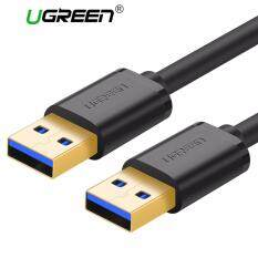 ส่วนลด Ugreen 3M Gold Plated Usb 2 Male To Male Extender Cable Black Ugreen ใน จีน