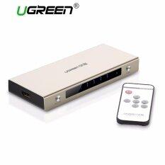 ซื้อ Ugreen 5 Ports Hdmi Switch Box Support 4K 3D 1080P With Wireless Remote Control For Ps4 Ps3 Xbox Blu Ray Skyq Box Tv Box Computer Etc Eu Plug Intl ออนไลน์